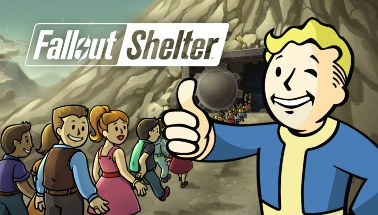 Fallout shelter 1024x583 - Fallout Shelter, Sobrevive en tu bóveda