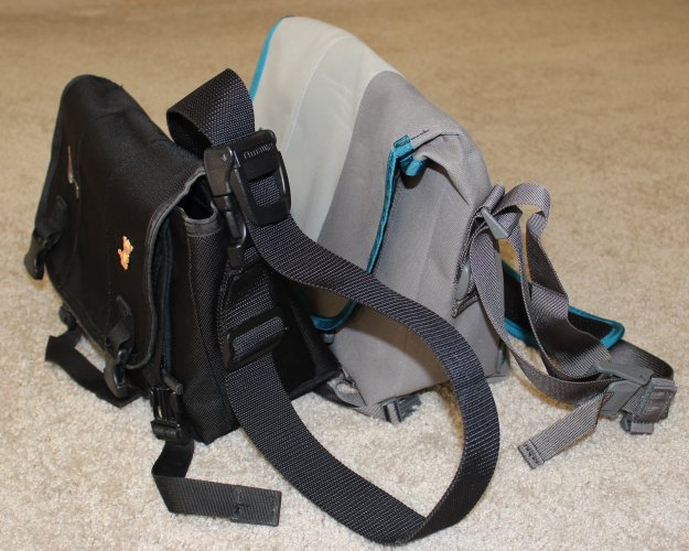 You can see how the cam buckle and strap have changed. It will take some getting used to, but it will be nice to not be getting caught on things with that big loop of webbing hanging off my bag.