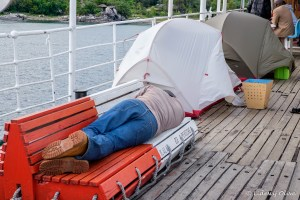 Sleeping on deck, even camping is a possibility