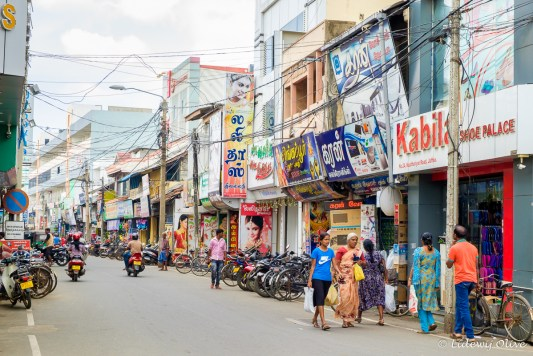 Chaotic streets of Jaffna