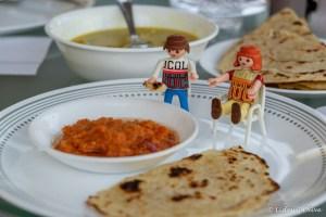 Travel companions enjoying the Sri Lankan breakfast