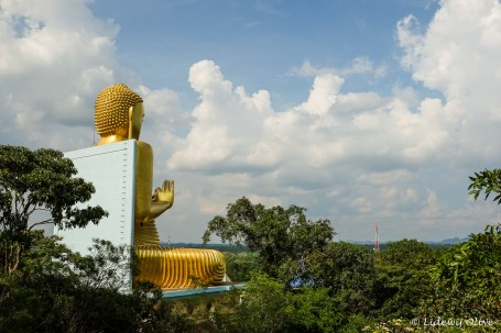 Big Buddha in Dambulla