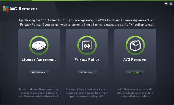 How to Completely uninstall AVG products
