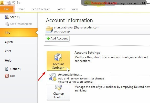 how to fix outlook emails receiving reported error 0x80040900