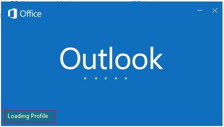 Outlook not opening after Windows update.