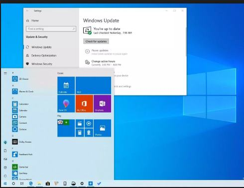 Windows 10 Update 1903