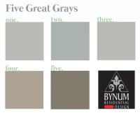 Paint Colors | bynum design blog