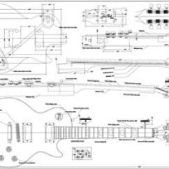 P Bass Body Dimensions Epiphone Wiring Diagram Les Paul Guitar Plans Bodies And Kits From Byoguitar Full Scale 59 Lp Standard Byoplan 59lp