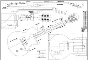 daily wood job: Guide Telecaster bass guitar plans