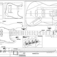 P Bass Body Dimensions Wiring Diagrams For Lighting Circuits Guitar Plans Bodies And Kits From Byoguitar Full Scale Jazz Plan Byoplan Jbass