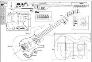 Schematic Fender Stratocaster Fender Nocaster Schematic