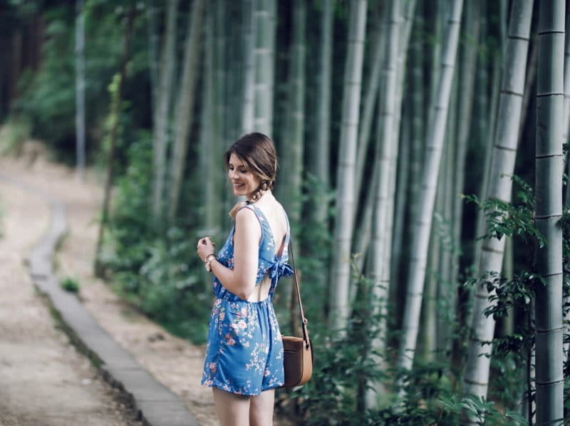 combishort fleurie kyoto bambous