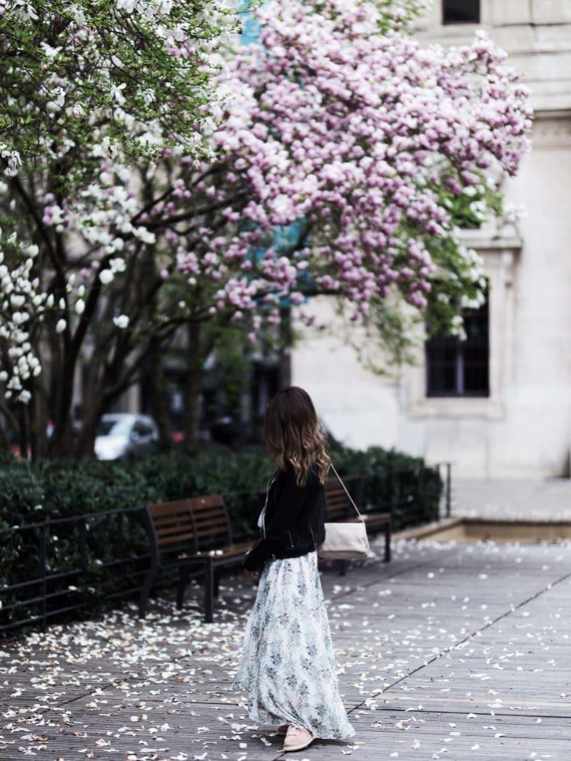 robe longue fleurs espadrilles