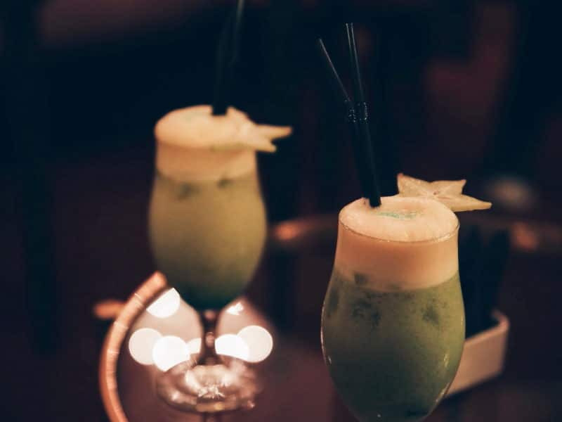 soirée grohe blue home hotel carlton cocktails