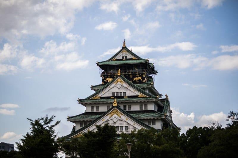 préparer son voyage au Japon chateau osaka