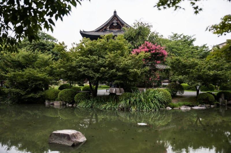 préparer son voyage au Japon jardin kyoto