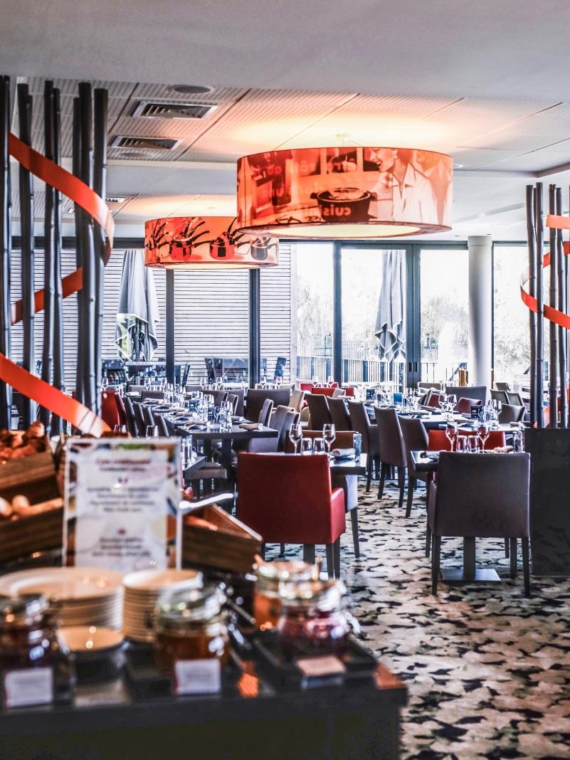 Hotel Golden Tulip Lyon blog By Opaline restaurant