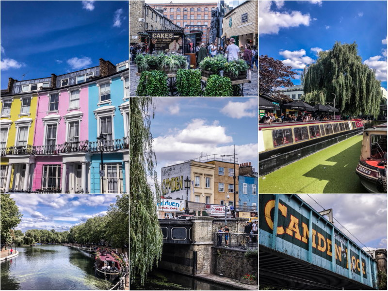 City guide Londres blog voyage By Opaline Camden