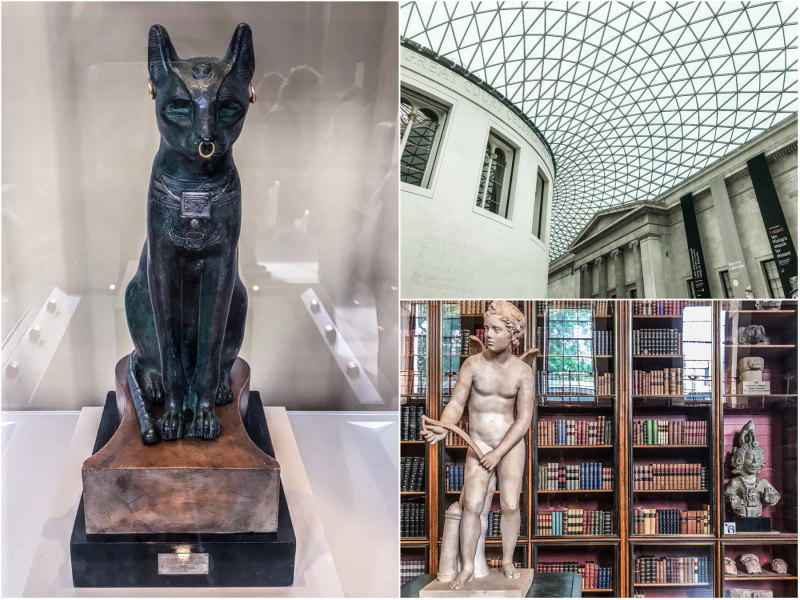 City guide Londres blog voyage By Opaline British museum