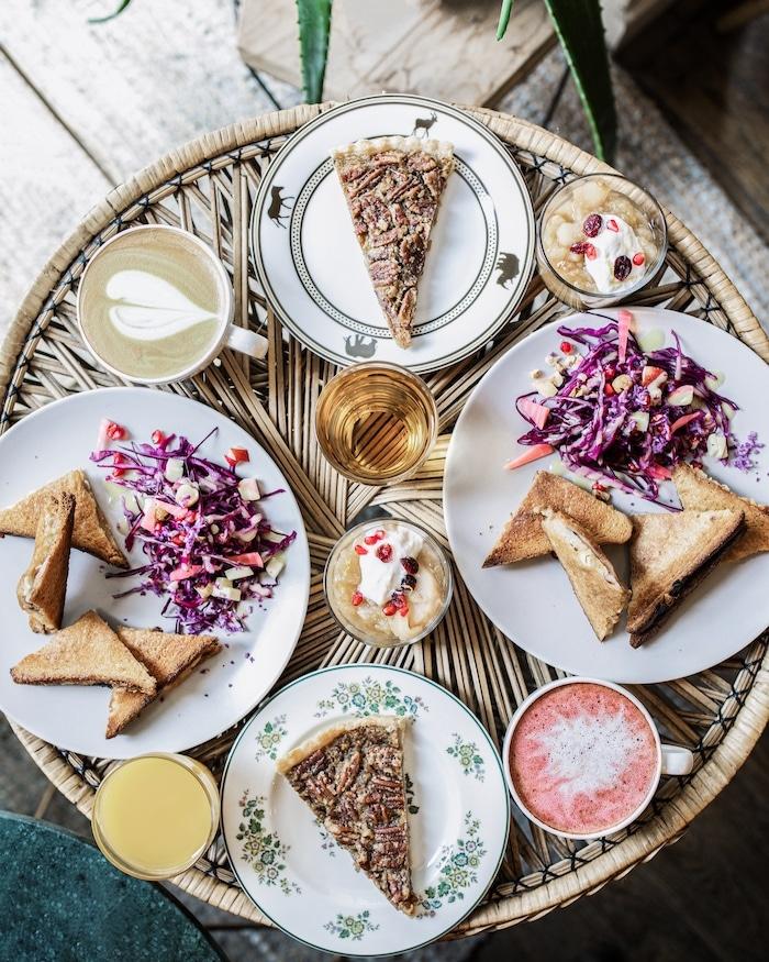 Brunch vegetarien vegan Anahera Lyon blog mode lifestyle By Opaline