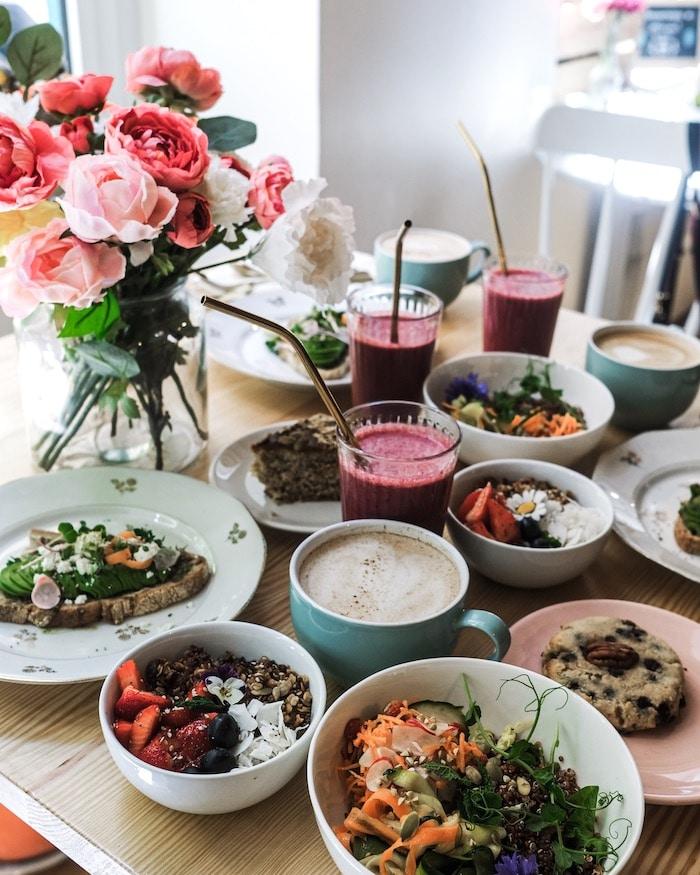 Brunch vegetarien vegan Comptoir Sauvage Lyon blog mode lifestyle By Opaline