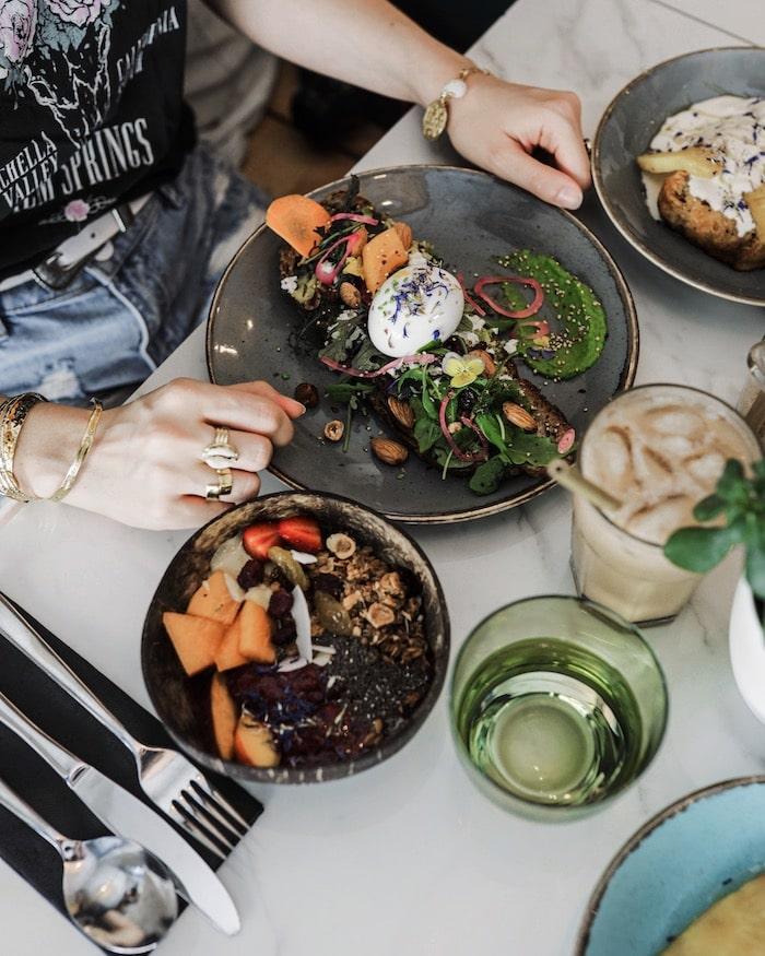 Brunch vegetarien vegan Mowgli Lyon blog mode lifestyle By Opaline