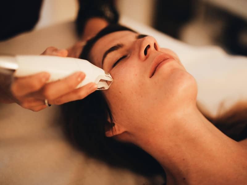 LPG endermologie visage challenge no make up blog beauté By Opaline Institut Voronina