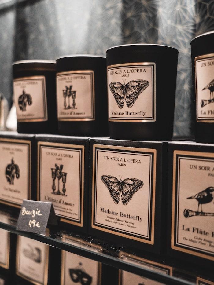 Boutique Lily Garçonne Lyon bougies Un soir à l'Opéra blog mode lifestyle Lyon France By Opaline