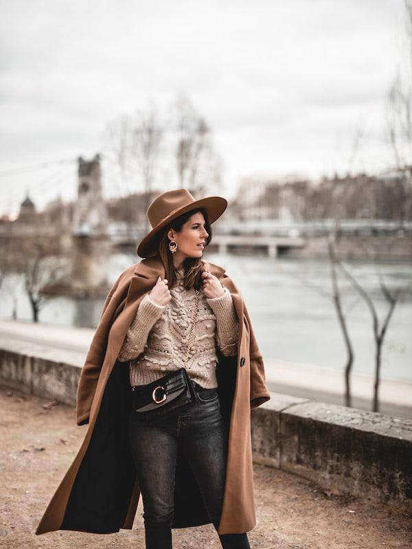 Inspiration look femme manteau oversize beige Zara