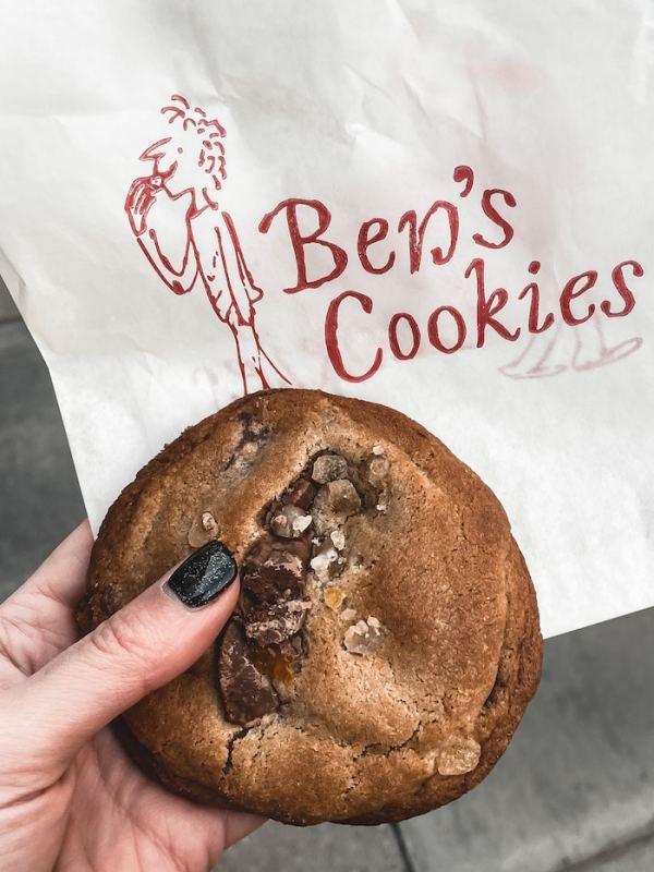 Meilleurs cookies Londres Ben's Cookies