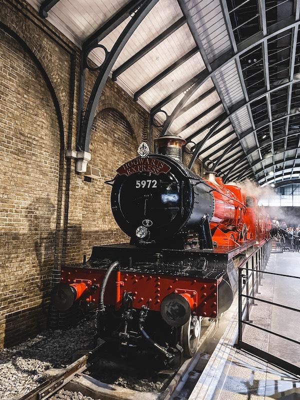 Studio Tour Harry Potter Londres train Hogwarts Express