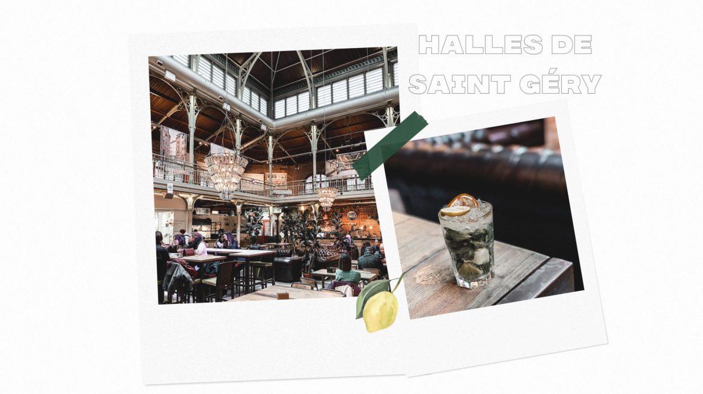 Boire un verre aux Halles de Saint Géry