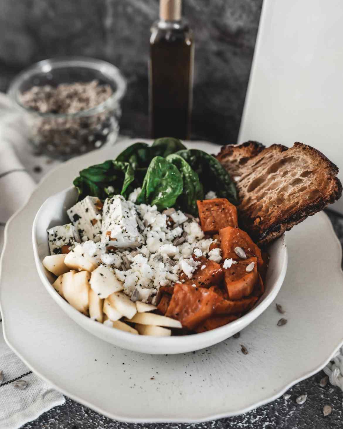 Recette salade fraîche végétarienne