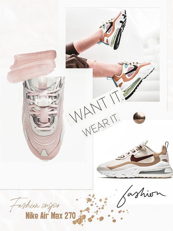 Nike Air Max 270 - Inspirations Mode tendances été 2020