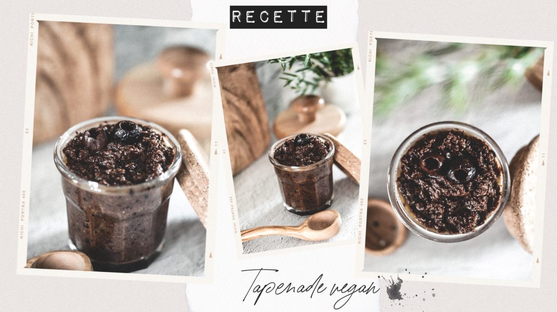 Recette tapenade vegan olives noires