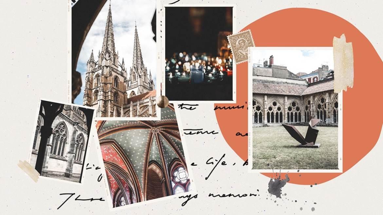 Blog voyage France les incontournables du Pays Basque cathédrale Sainte-Marie de Bayonne