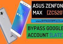 Bypass FRP Asus Zenfone 3 max ZC520TL [Latest]