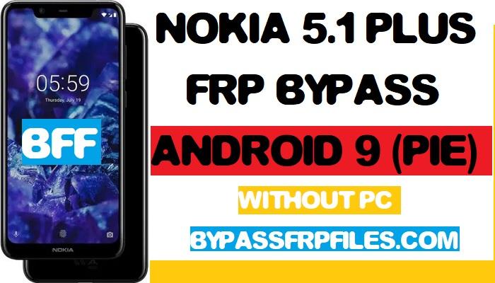 Nokia 5.1 Plus, Nokia TA1102, Frp Unlock, Without Pc, NOKIA 5.1/ 5.1 Plus (TA-1105),hard reset nokia 5.1, hard reset nokia ta 1105, bypass frp nokia 5.1 plus