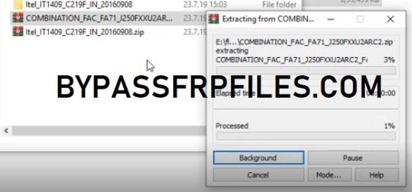 FRP Bypass Samsung J2 Pro (SM-J250) One Click - FRP BYPASS Files