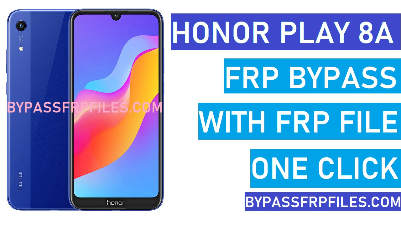 Honor Play 8a FRP Bypass