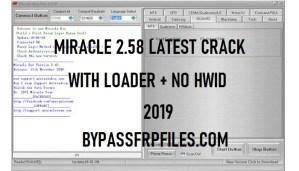 Miracle Box latest Crack 2.58