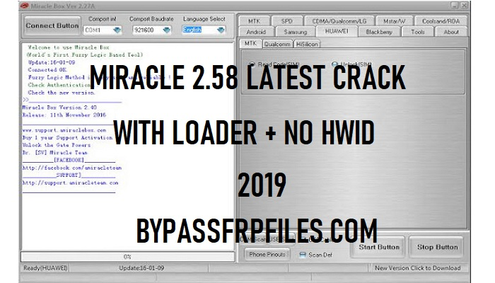 Miracle Box latest Crack 2.58