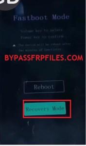 Vivo Fastboot mode