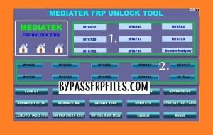 Open MTK FRP Unlock TOol