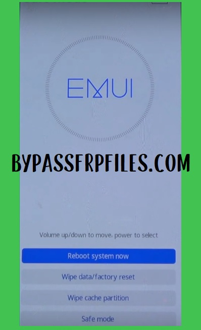 Huawei recovery mode to huawei/ honor frp bypass and unlock