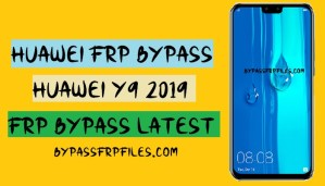 Huawei Y9 Frp bypass