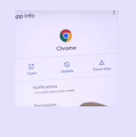 Open Google Chrome to Oneplus frp bypass