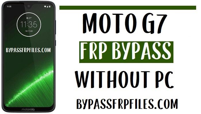 Moto G7 FRP Bypass – Unlock Google Account (Android 9)