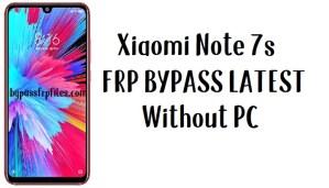 Xiaomi Redmi Note 7s FRP Bypass – Unlock Google 100% Work (MIUI 11)