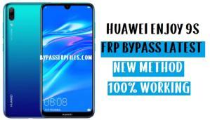 Huawei Enjoy 9s FRP Bypass - Unlock Google Account EMUI 9.0.1 | NO TALKBACK